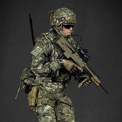 GreenWolfGear 1/6スケールミリタリーフィギュア 【GreenWolfGear】GWG-009 BRITISH ARMY (OP TORAL) AFGHANISTAN KABUL SECURITY FORCE (KSF) イギリス陸軍 1/6スケールフィギュア