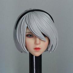最安値に挑戦 1 6スケール女性ドールヘッド TOYS PARK TP001 6スケール carving 女性ヘッド 完全送料無料 head 6