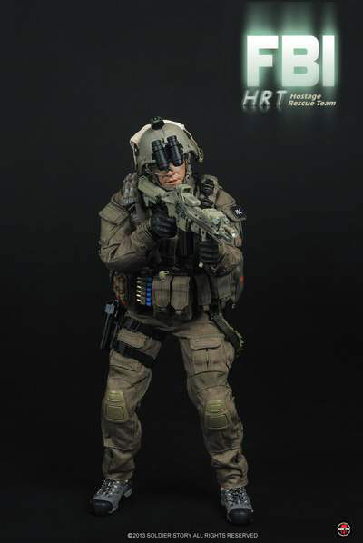 支持1/6 FBI HRT Hostage Rescue Team人質的部隊