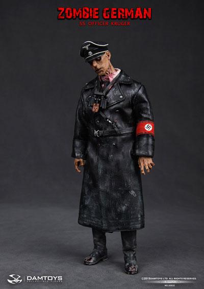 No.9万3032 Zombie German-SS Officer Kruger 1/6花样滑冰