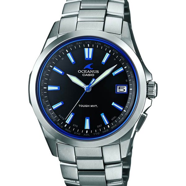 CASIO OCW-S100-1AJF Casio Oceanus OCEANUS MADE IN JAPAN radio solar watch for men