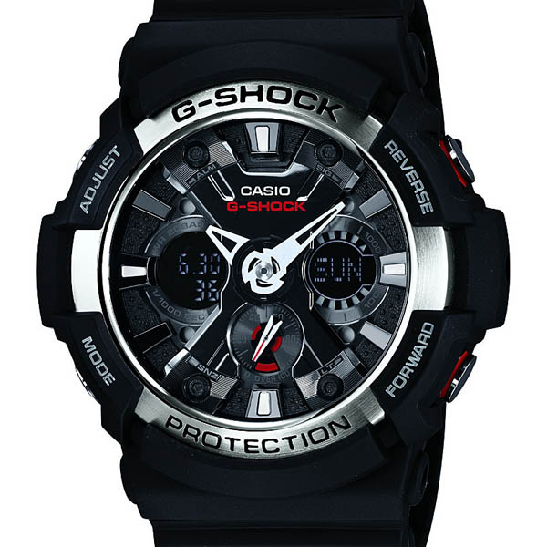 GA-200-1AJF Casio g-shock Japan genuine 20 ATM water resistant 1 / 1000 second stopwatch antimagnetic Watch (JIS species) Watch watch WATCH G shock mens Christmas gifts fs3gm