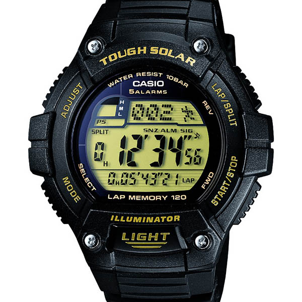 W-S220-9AJF Casio when total domestic authorised 10 pressure waterproof solar LED light watch watch WATCH sale kind Christmas gifts