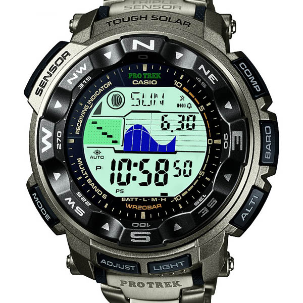 PRW-2500T-7JF Casio PROTREK domestic genuine 20 ATM water resistant radio solar triple sensor watch watch WATCH protrek mens Christmas gifts fs3gm
