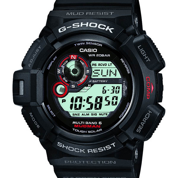 GW-9300-1JF Casio g-shock Japan genuine 20 air pressure waterproof マッドレジスト structure orientation and temperature measurement watch watch WATCH G shock mens Christmas gifts