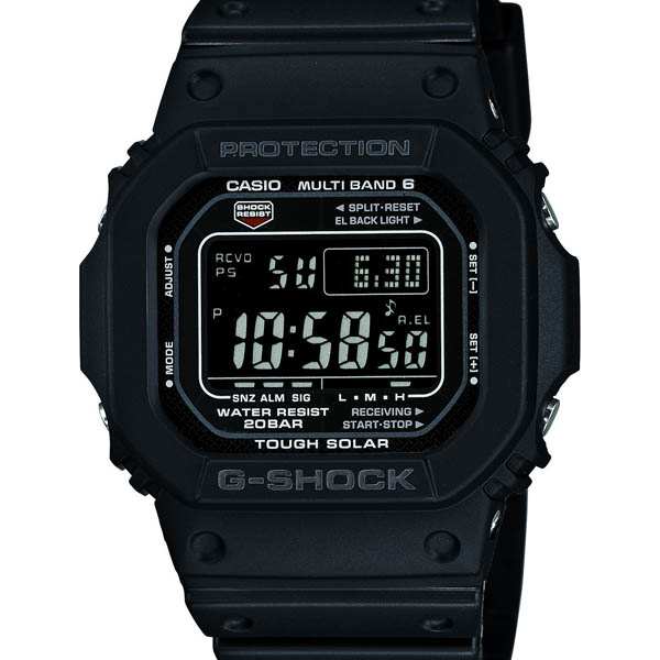 GW-M5610-1BJF Casio limited model g-shock Japan genuine 20 ATM waterproof radio solar world 6 stations receive watch watch WATCH G shock mens Christmas gifts