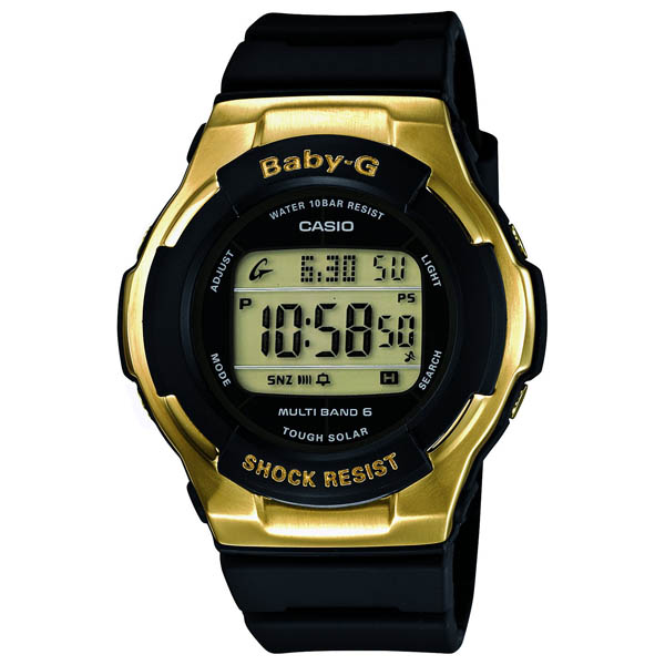 BGD-1310-1CJF Casio baby-g regular domestic air pressure 10 waterproof radio solar world 6 stations receive world time world 48 cities watch watch WATCH sales type ladies solar radio clock radio watch
