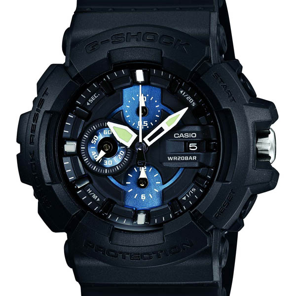 GAC-100-1 A2JF Casio g-shock Japan genuine 20 air pressure waterproof shockproof structure 1 / 20 sec stopwatch watch watch WATCH G shock mens Christmas gifts fs3gm