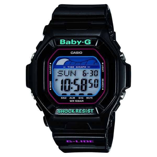 BLX-5600-1JF Casio baby-g regular domestic air pressure 10 waterproof タイドブラフ world time 48 cities watch watch WATCH sale kind Christmas gifts fs3gm