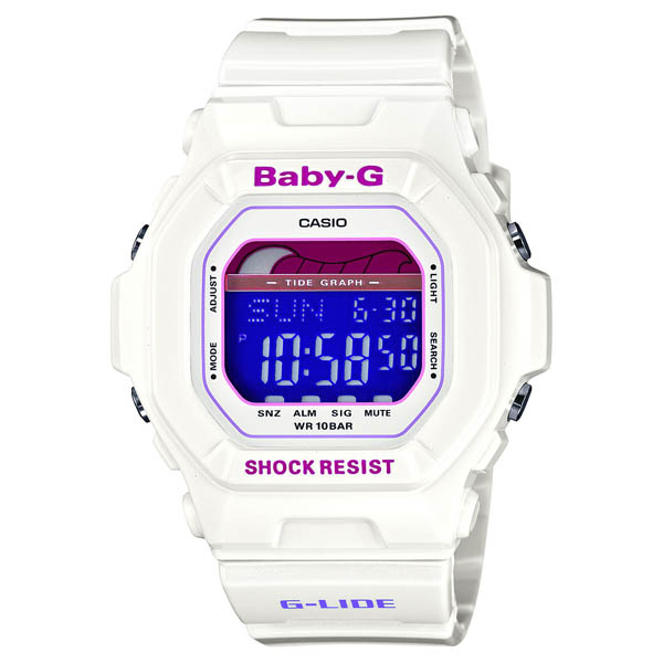 BLX-5600-7JF Casio baby-g domestic genuine 10 ATM waterproof タイドブラフ world time 48 cities watch watch WATCH sale kind Christmas gifts