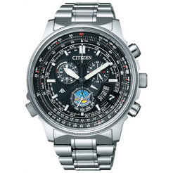 BY0080-65E CITIZEN citizen PROMASTER ProMaster SKY series eco-drive radio clock direct fly disk Bruin pulse model mens watch ★ ★ domestic genuine watch WATCH sales type Christmas gifts