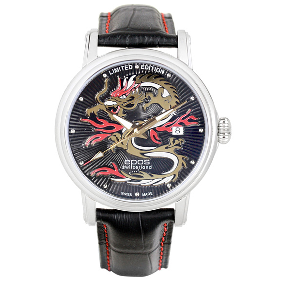 All world / 3390DRAGON-LTD399 world limited 399 this EPOS interesting mens watch domestic genuine watch WATCH manufacturers warranty sales type