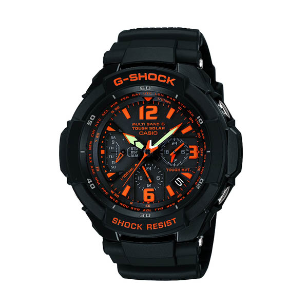 GW-3000B-1AJF Casio g-shock G shock mens watch shock resistance structure 20 pressure waterproof country in genuine watch WATCH manufacturers warranty sales type Christmas gifts fs3gm