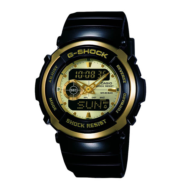 G-300G-9AJF Casio g-shock G shock mens watch shock resistance structure 20 pressure waterproof country in genuine watch WATCH manufacturers warranty sales type Christmas gifts fs3gm