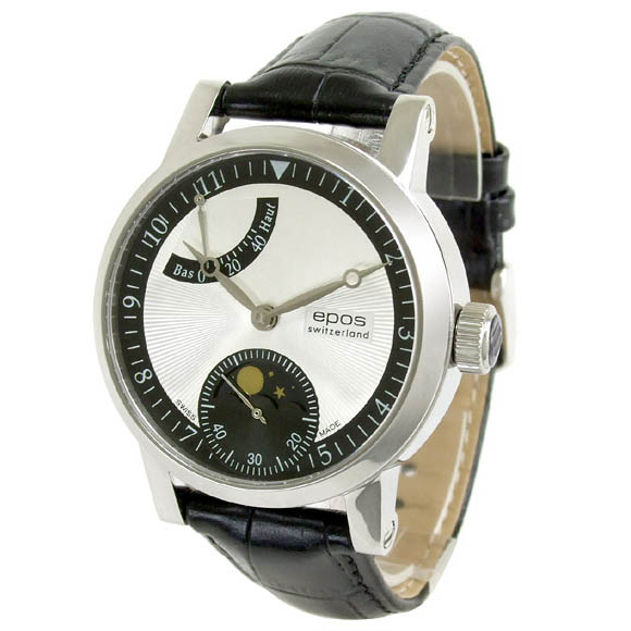 Sale kind present with the whole world /3378SL Unitas6498 EPOS エポスメンズ watch domestic regular article watch WATCH maker guarantee