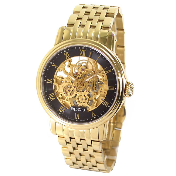 All over the world / 3390 SKGPRBKM ETA 2892-A2 EPOS interesting mens watch manufacturers genuine watch WATCH guaranteed sales type 10P28Sep16