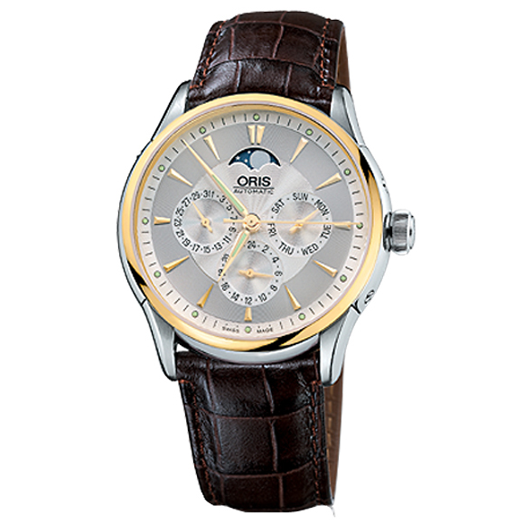 Sale kind present with the whole world / 58175924351D ETA2688/2671 see-through back ORIS cages men clock watch watch WATCH maker guarantee