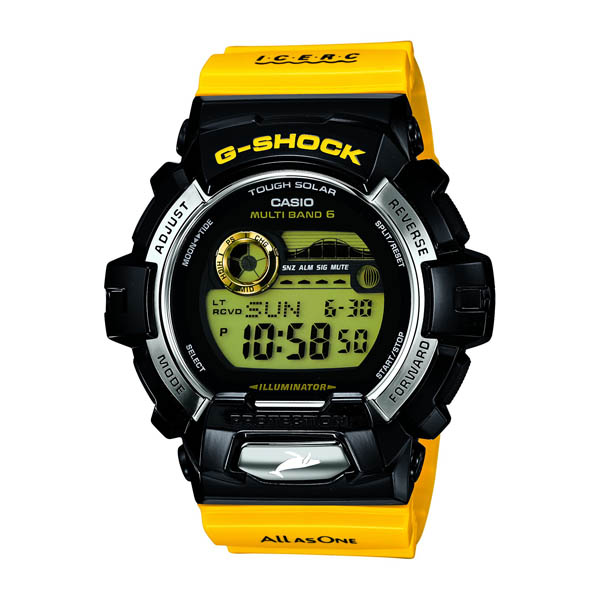 GWX-8901K-1JR Casio g-shock G shock limited edition model mens watch 20 pressure waterproof radio solar world 6 stations receiving country in genuine watch WATCH manufacturers warranty sales type