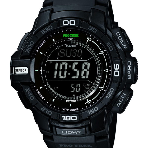 PRG-270-1AJF Casio PROTREK protrek mens watch 10 ATM waterproof tough solar domestic genuine watch WATCH manufacturers warranty sales type Christmas gifts