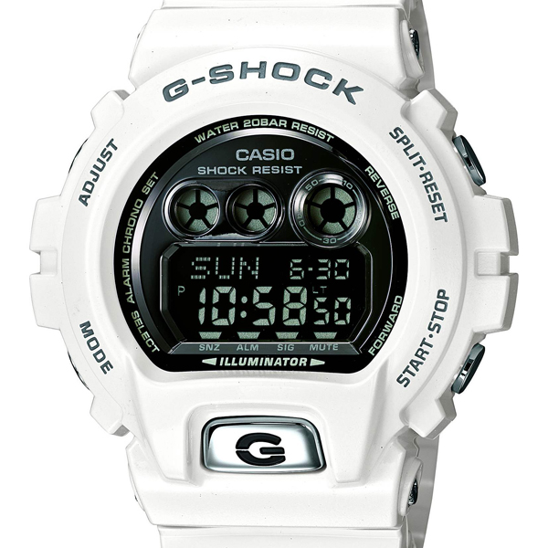 GD-X6900FB-7JF G-SHOCK white CASIO Casio G-SHOCK white ジーショック gshock G-Shock white digital watch MIL standard MIL standard mil specifications present ass leisure