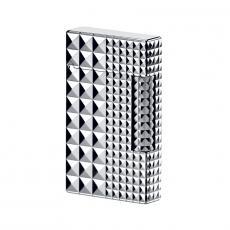 デュポン ライター ライン 2 パラディウム 2サイズ のダイアモンド・ヘッド・カット/16066 S.T.Dupont エス・テー・デュポン ライター 送料無料 プレゼント ブランド