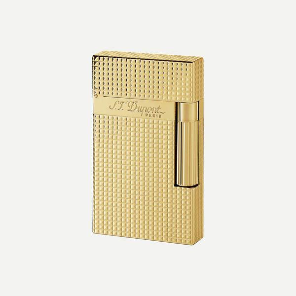 デュポン ライター ライン 2 ゴールド 1.5mm ダイアモンド・ヘッド・カット/16284 S.T.Dupont エス・テー・デュポン ライター 送料無料 プレゼント ブランド