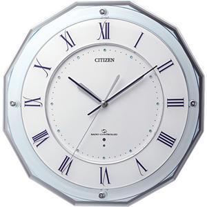 【クーポン利用で200円OFF】4MY835-004/CITIZEN シチズン スリーウェイブM835 掛け時計 腕時計 ウォッチ WATCH 送料無料 プレゼント フォーマル