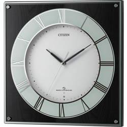 【エントリーでポイント5倍】全世界送料無料/4MY838-002スリーウェイブM838 CITIZEN シチズン 電波掛時計(スリーウェイブ) 掛け時計 プレゼント フォーマル