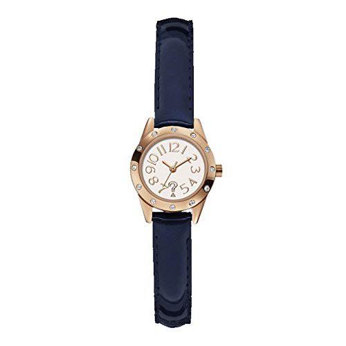 【クーポン利用で400円OFF】W0341L3 GUESS ゲス 腕時計 CUTESY キューテシー レディース 白 ホワイト文字盤 ピンクゴールドベゼル おしゃれ かわいい