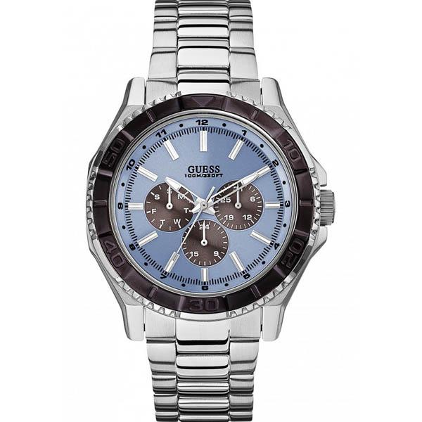 【クーポン利用で2000円OFF】W0479G2 GUESS ゲス 腕時計 UNPLUGGED アンプラグド メンズ 青文字盤 ブルー 青 プレゼント ブランド