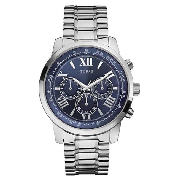 【クーポン利用で1000円OFF】W0379G3 GUESS ゲス 腕時計 HORIZON ホライズン メンズ 青文字盤 ブルー 青 プレゼント