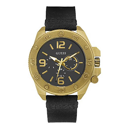 【クーポン利用で1000円OFF】W0659G2 GUESS ゲス 腕時計 VIPER バイパー メンズ 黒 ブラック 黒文字盤 プレゼント