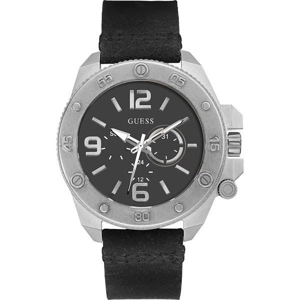 【クーポン利用で800円OFF】W0659G1 GUESS ゲス 腕時計 VIPER バイパー メンズ 黒 ブラック 黒文字盤 プレゼント