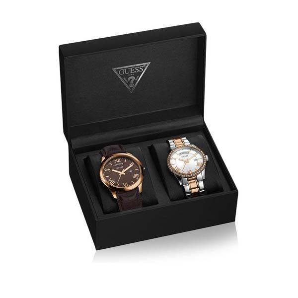 【クーポン利用で1000円OFF】W0748P1 GUESS ゲス 腕時計 HEMISPHERE(BOX SET) ヘミスフィア メンズ プレゼント