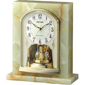 【エントリーでポイント5倍】4RY710SR05 CITIZEN CLOCK RHYYHM シチズンクロック リズム パルグロリアR710 置時計国内正規品 プレゼント フォーマル