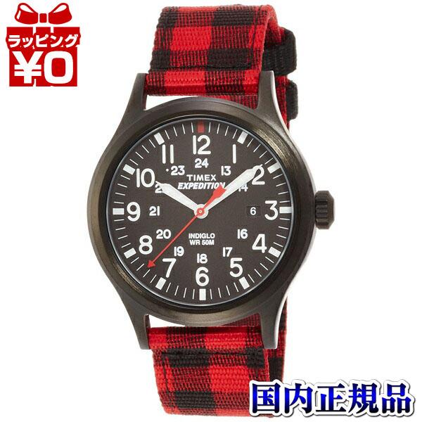 【クーポン利用で400円OFF】TW4B02000 TIMEX タイメックス 国内正規品 EXP スカウトメタル バッファローレッド メンズ腕時計 プレゼント