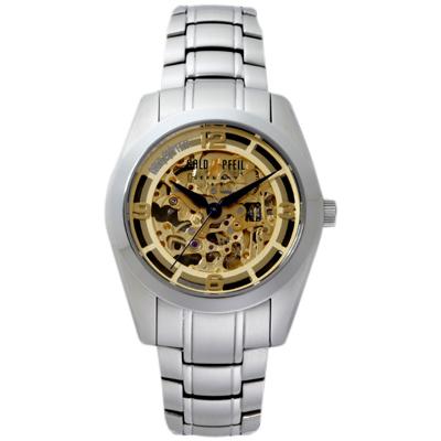 【クーポン利用で3000円OFF】G51007SC GOLD PFEIL ゴールドファイル ウォッチ G51007 Series ゴールド スケルトン メンズ 腕時計 送料無料 送料込 プレゼント
