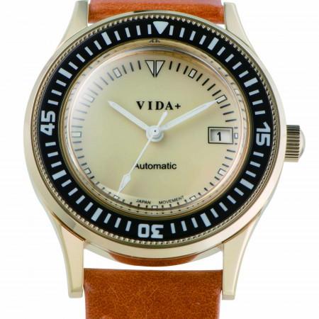 【クーポン利用で800円OFF】45918LE-BR VIDA+ ヴィーダプラス Heritage ヘリテージ メンズ 腕時計 ポイント10倍 送料無料 プレゼント