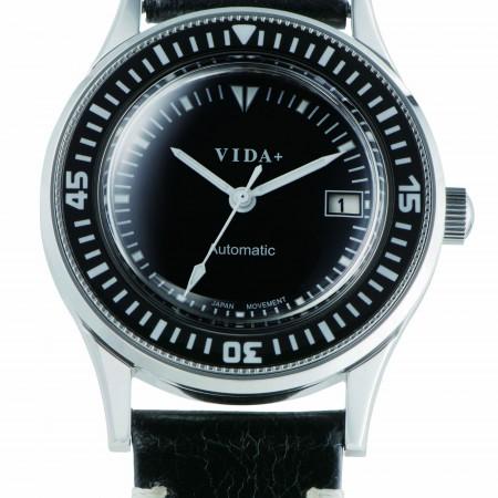 【クーポン利用で800円OFF】45920LE-BK VIDA+ ヴィーダプラス Heritage ヘリテージ メンズ 腕時計 ポイント10倍 送料無料 プレゼント