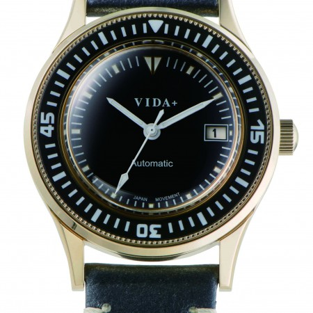【クーポン利用で1000円OFF】45919LE-NV VIDA+ ヴィーダプラス Heritage ヘリテージ メンズ 腕時計 ポイント10倍 送料無料 自動巻き オートマチック 機械式 プレゼント