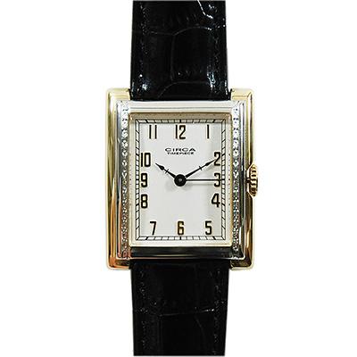 【クーポン利用で1000円OFF】CT107T CIRCA TIMEPIECE サーカ SQUARE MODEL スクエアモデル レディース 腕時計 ポイント10倍 送料無料 おしゃれ かわいい