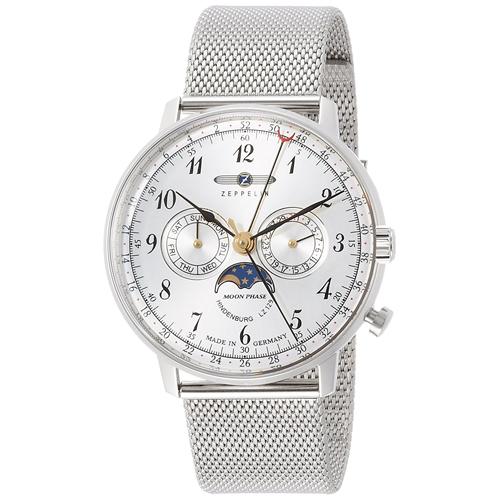 【クーポン利用で3000円OFF】7036M1 ZEPPELIN ツェッペリン ヒンデンブルク メンズ 腕時計 国内正規品 送料無料