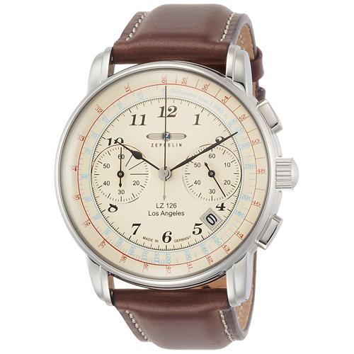 【クーポン利用で1000円OFF】76145 ZEPPELIN ツェッペリン LZ126 Los Angeles メンズ 腕時計 国内正規品 送料無料