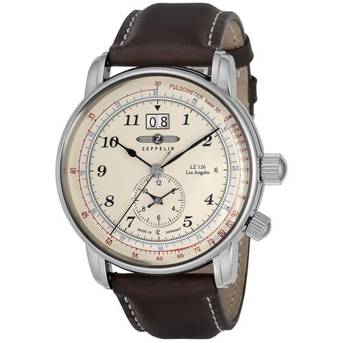【クーポン利用で2400円OFF】86445 ZEPPELIN ツェッペリン LZ126 Los Angeles メンズ 腕時計 国内正規品 送料無料