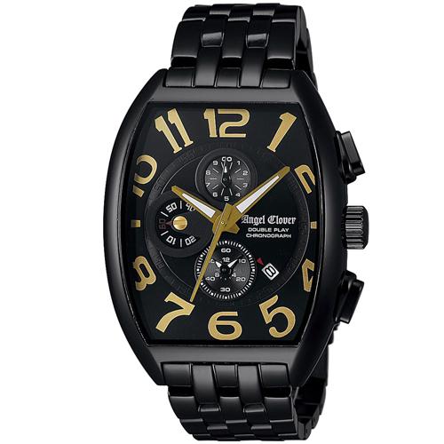 【クーポン利用で800円OFF】DP38BBG Angel Clover エンジェルクローバー ダブルプレイ メンズ 腕時計 国内正規品 送料無料