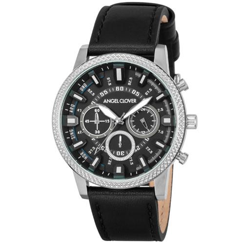 【クーポン利用で1000円OFF】RD44SBK-BK Angel Clover エンジェルクローバー リッジ メンズ 腕時計 国内正規品 送料無料