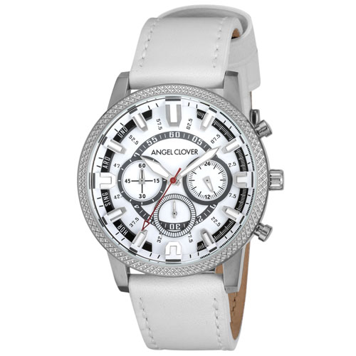 【クーポン利用で1200円OFF】RD44SWH-WH Angel Clover エンジェルクローバー リッジ メンズ 腕時計 国内正規品 送料無料