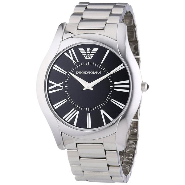 【クーポン利用で1200円OFF】AR2022 EMPORIO ARMANI エンポリオアルマーニ EA 並行輸入品 スーパースリム メンズ 腕時計 送料無料
