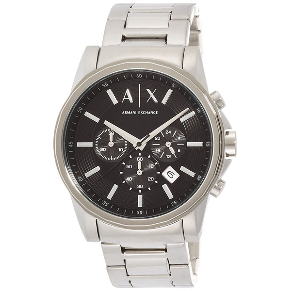 【クーポン利用で1000円OFF】AX2084 ARMANI EXCHANGE アルマーニエクスチェンジ 並行輸入品 クロノグラフ メンズ 腕時計 送料無料