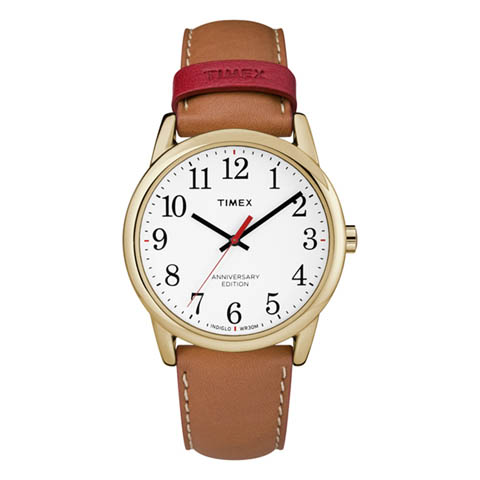 【クーポン利用で400円OFF】TW2R40100 タイメックス TIMEX 正規品 TW2R40100 2017AW イージーリーダー40th 38タン メンズ 腕時計 国内正規品 ペアモデル